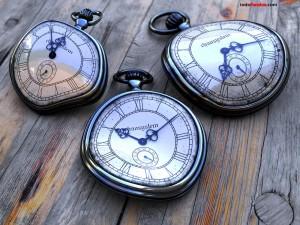Postal: Relojes blandos