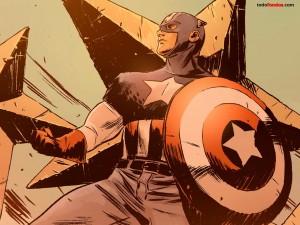 Postal: Capitán América