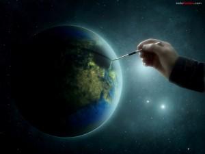 Dibujando el planeta