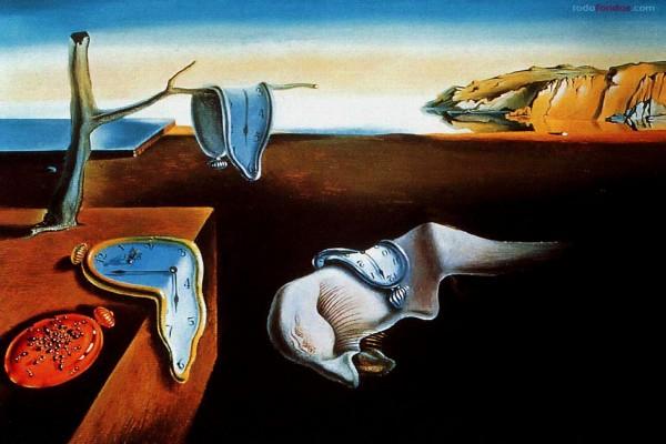 Los relojes blandos (o La persistencia de la memoria) de Salvador Dalí