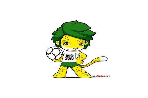 Zakumi, la mascota del Mundial de Fútbol de 2010 (Sudáfrica)