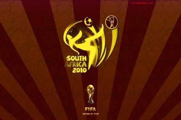 Mundial de Fútbol de 2010 de Sudáfrica (en marrones)