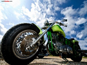 Harley Davidson en perspectiva