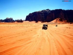 Desierto de Wadi Rum (Jordania)