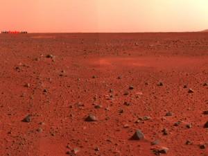 Postal: Superficie de Marte
