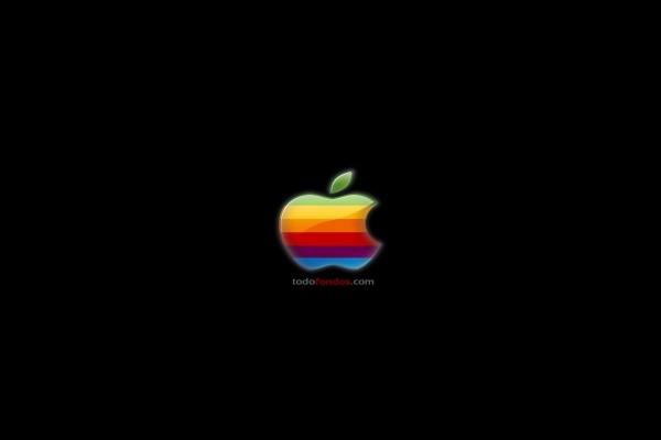 Antiguo logo de Apple