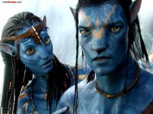 Neytiri y Jake Sully