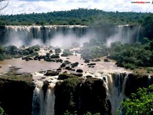 Cataratas del Iguazú (del lado de Brasil)