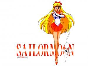 Postal: Minako Aino (Sailor Moon)