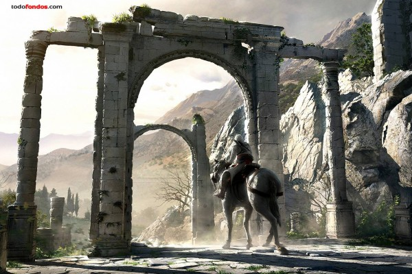 Assassin's Creed, cabalgando entre ruinas