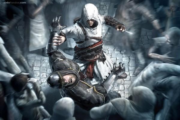 50 Gif Animados De Fondos De Videojuegos De Lucha: Assassin's Creed, Lucha A Muerte (211