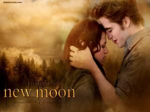 Postal: Edward y Bella (Luna Nueva, Saga Crepúsculo)
