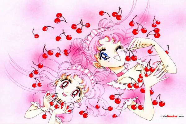 Usagi y Chibiusa (Sailor Moon)