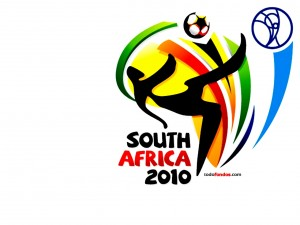 Postal: Logo de la FIFA World Cup South Africa 2010