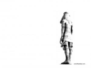 Postal: La estatua de Lost (Perdidos)