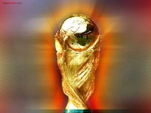 Postal: Trofeo de la Copa Mundial de la FIFA