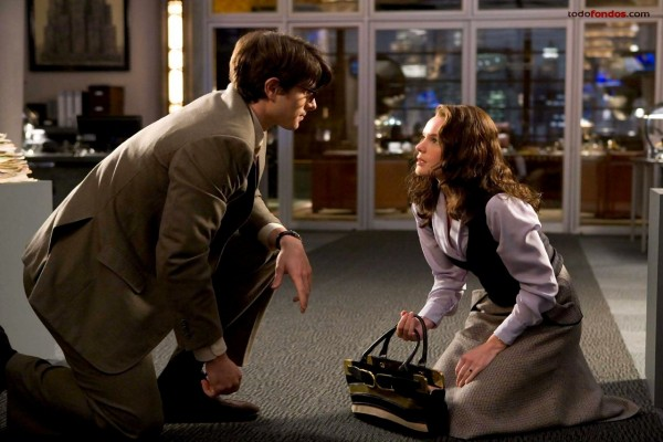 "Clark Kent (Brandon Routh) y Lois Lane (Kate Bosworth) en ""Superman Returns"""