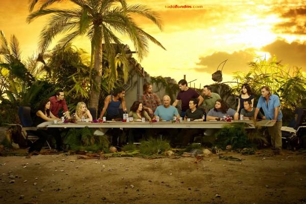 La última cena de Lost (Perdidos)