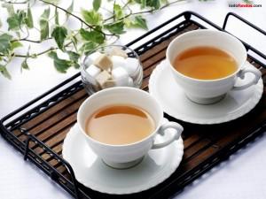 Postal: Tazas de té