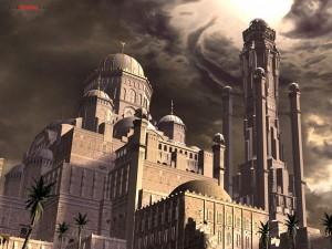 """Palacio de """"Prince of Persia: Las Arenas del Tiempo"""""""
