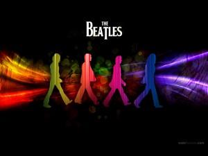 Siluetas de Los Beatles