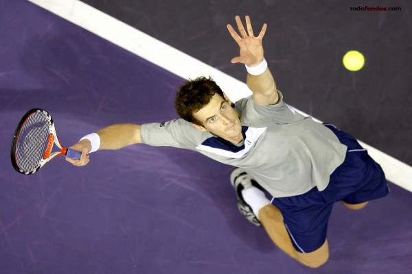 Andy Murray sacando