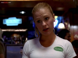 Sookie Stackhouse (Anna Paquin) protagonista de True Blood