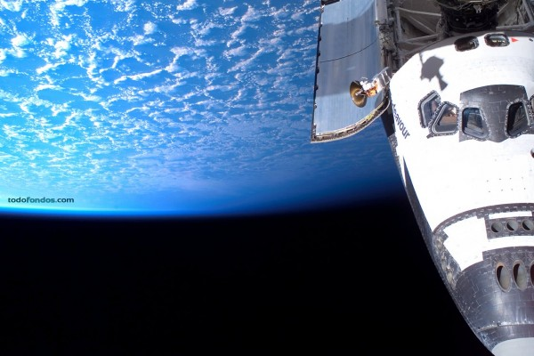 La Tierra desde el transbordador Endeavour