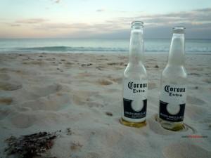 Postal: Cerveza Corona Extra