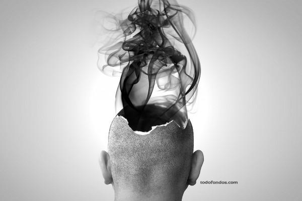 Saliendo humo de la cabeza