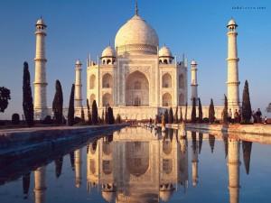 Postal: El Taj Mahal