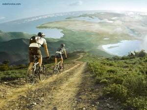 El mundo en bicicleta