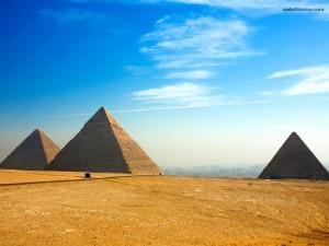 Postal: Las Pirámides de Egipto