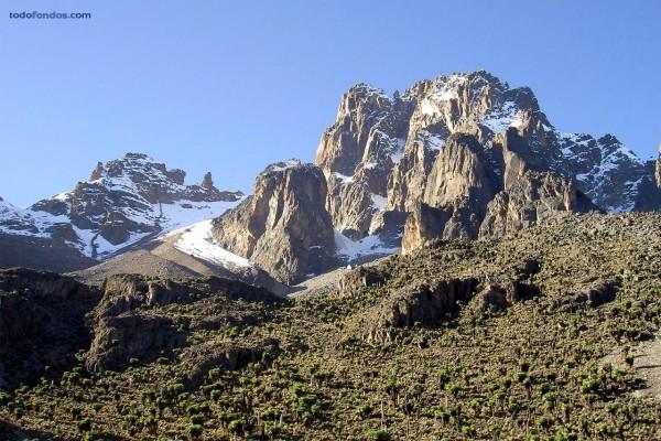 El monte Kenia