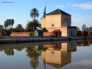 Los Jardines de Menara (Marrakech, Marruecos)