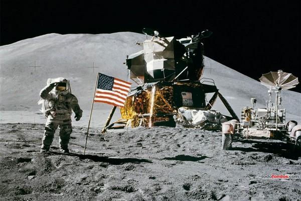El Apolo 15 en la Luna