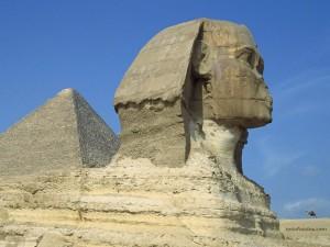 La Gran Esfinge de Giza (El Cairo, Egipto)