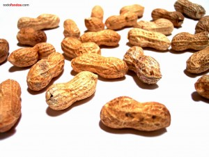 Cacahuetes (o manís)