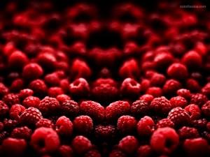 Frambuesas rojas