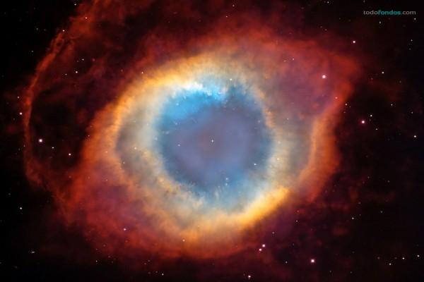 """Nebulosa de la Hélice (""""Ojo de Dios"""", o NGC 7293)"""