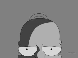 Cabeza de Homer Simpson
