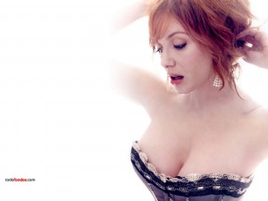 Postal: Christina Hendricks