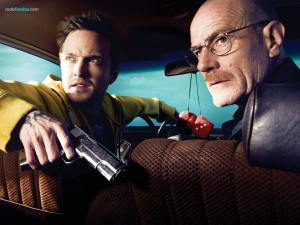 Walter White (Bryan Cranston) y Jesse Pinkman (Aaron Paul)