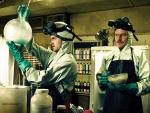 "Walter White y Jesse Pinkman ""cocinando meta"""