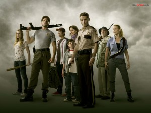 "Postal: Protagonistas de ""The Walking Dead"""