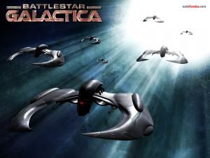 Postal: Naves de Battlestar Galactica