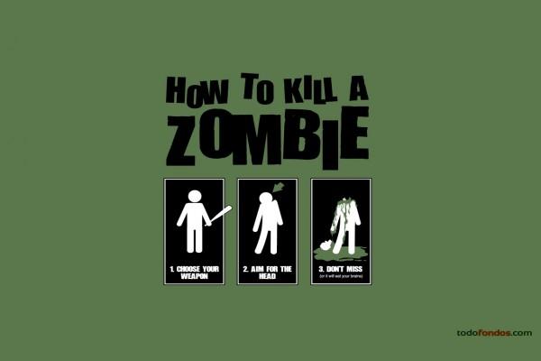 Cómo matar un zombi