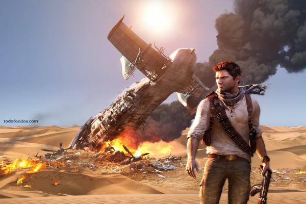 Nathan Drake en Uncharted 3