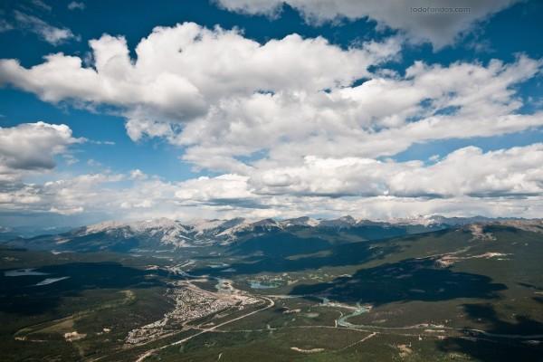 Jasper (Canadá) desde el Monte Whistler