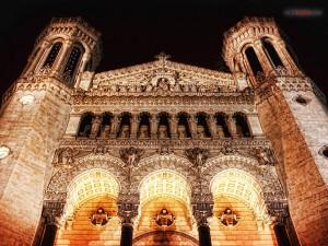 Postal: Basílica Notre-Dame de Fourvière, Lyon